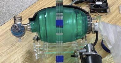 低コストかつ大量生産可能な人工呼吸器 AmboVent